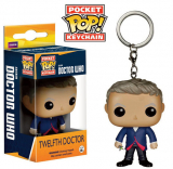Doctor Who POP! - vinylová kľúčenka 12th Doctor 4 cm