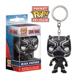 Captain America Civil War Pocket POP! - vinylová kľúčenka Black Panther 4 cm