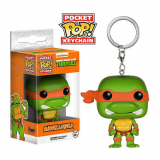 Teenage Mutant Ninja Turtles POP! - vinylová kľúčenka Michelangelo 4 cm