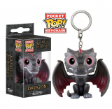 Game of Thrones  Pocket POP! - vinylová kľúčenka Drogon 4 cm