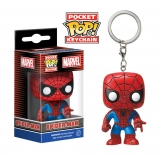 Marvel Comics Pocket POP! - vinylová kľúčenka Spider-Man 4 cm