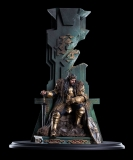 Hobbit The Battle of the Five Armies - socha King Thorin on Throne 46 cm