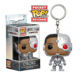 Justice League Pocket POP! - vinylová kľúčenka Cyborg 4 cm