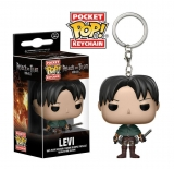 Attack on Titan Pocket POP!  - vinylová kľúčenka Levi Ackerman 4 cm