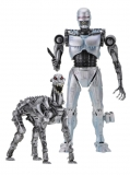 RoboCop vs The Terminator - figúrkay EndoCop & Terminator Dog 18 cm