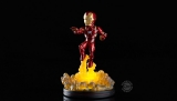 Marvel Comics Light-Up Q-Fig - figúrka Iron Man 14 cm