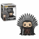 Game of Thrones POP! - figúrka Jon Snow on Iron Throne 15 cm
