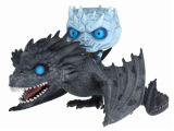 Game of Thrones POP! - figúrka Night King & Viserion 12 cm