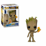Avengers Infinity War POP! - figúrka Groot with Stormbreaker 9 cm