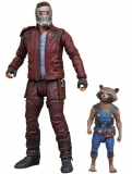 Guardians of the Galaxy Volume 2 - figúrka Star-Lord & Rocket Raccoon 18 cm