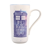 Doctor Who - hrnček Latte-Macchiato Galaxy 0,4l