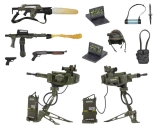 Aliens - sada USCM Arsenal Weapons Accessory Pack