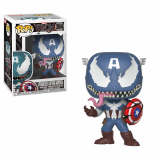 Venom POP! - bobble head Venomized Captain America 9 cm
