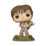 Star Wars POP! - figúrka Training Luke with Yoda 9 cm