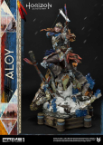 Horizon Zero Dawn - socha Aloy Shield Weaver Armor Set 70 cm