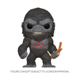 Godzilla Vs Kong POP! - figúrka Battle Worn Kong 9 cm