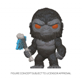 Godzilla Vs Kong POP! - figúrka King Kong with Axe 9 cm
