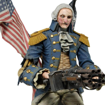 Bioshock Infinite - figúrka George Washington Heavy Hitter Patriot 23 cm