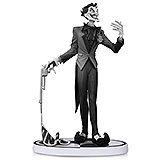 Batman Black & White - soška The Joker (Jim Lee) 2nd Edition 15 cm