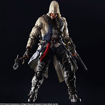 Assassin's Creed III - figúrka Play Arts Kai Connor Kenway 28 cm