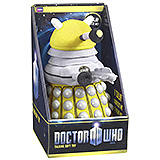 Doctor Who - plyšová figúrka Yellow Dalek with sound 23 cm