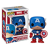 Marvel Comics POP! - bobble head Captain America 10 cm