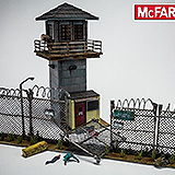 The Walking Dead - stavebnica Prison Tower & Gate