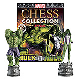 Marvel Chess Collection Special - figúrka a časopis #1 Hulk & She-Hulk