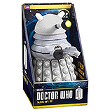Doctor Who - plyšová figúrka White Dalek with sound & light 38 cm