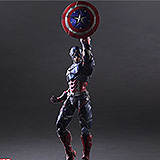 Marvel Comics Variant - figúrka Play Arts Kai Captain America 27 cm