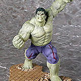 Avengers Age of Ultron ARTFX+ - soška Rampaging Hulk EE Exclusive 24 cm