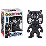 Captain America Civil War POP! - bobble head Black Panther 10 cm