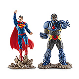 Justice League - figúrky Superman vs. Darkseid 10 cm