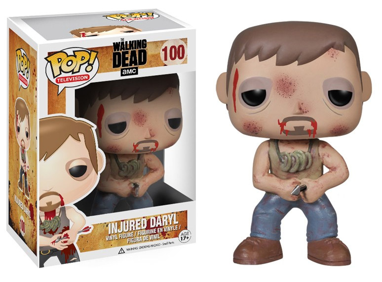 The Walking Dead POP! - figúrka Daryl with Arrow 10 cm