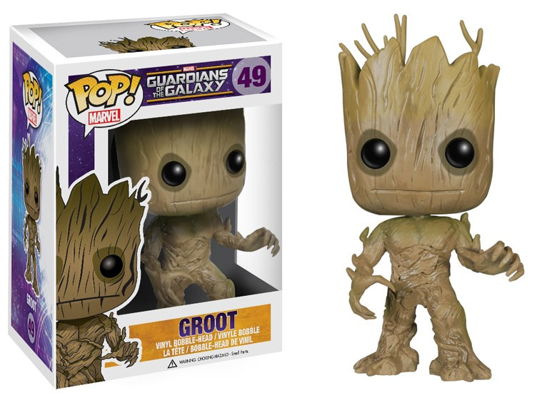 Guardians of the Galaxy POP! - bobble head Groot 10 cm