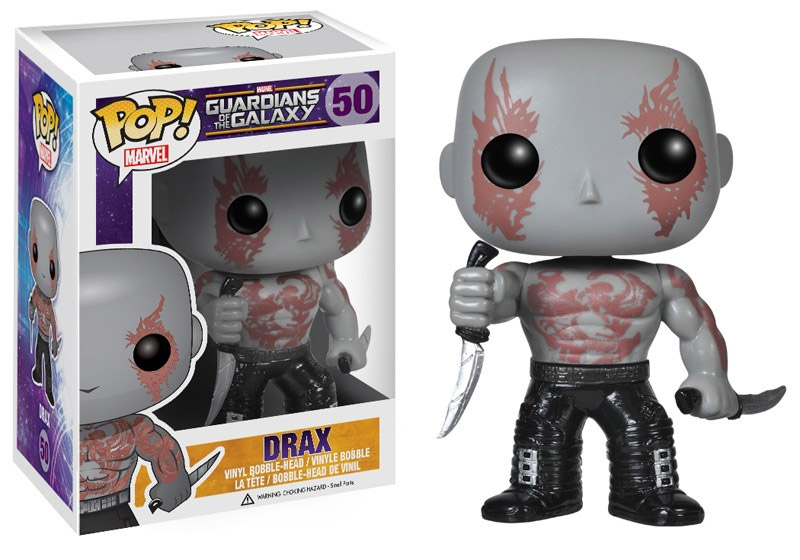 Guardians of the Galaxy POP! - bobble head Drax The Destroyer 10 cm