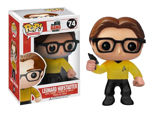 The Big Bang Theory POP! - figúrka Star Trek Leonard 10 cm