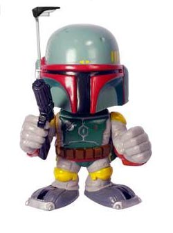 Star Wars - bobble head Boba Fett 15 cm