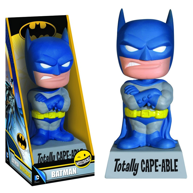 DC Comics - bobble head Batman Totally Cape-Able 15 cm