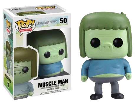 Regular Show POP! - figúrka Muscle Man 10 cm