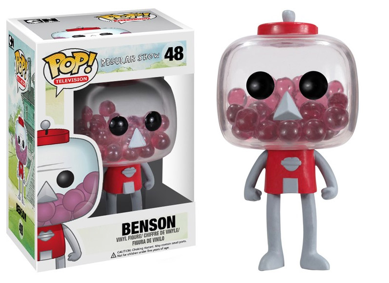 Regular Show POP! - figúrka Benson 10 cm