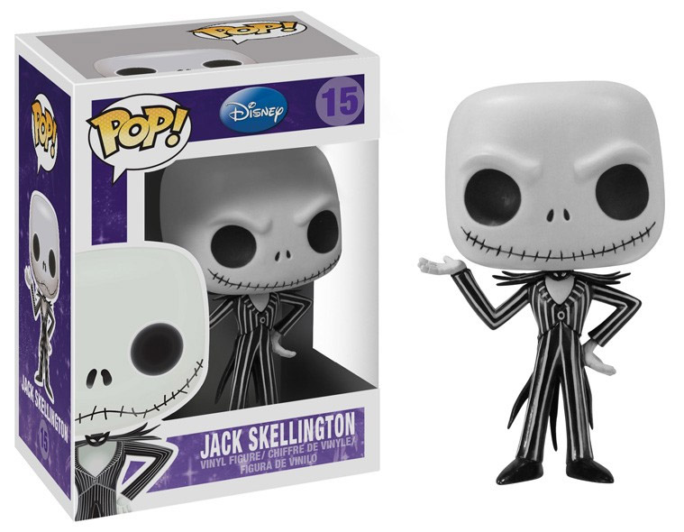 Nightmare Before Christmas POP! - figúrka Jack Skellington 10 cm