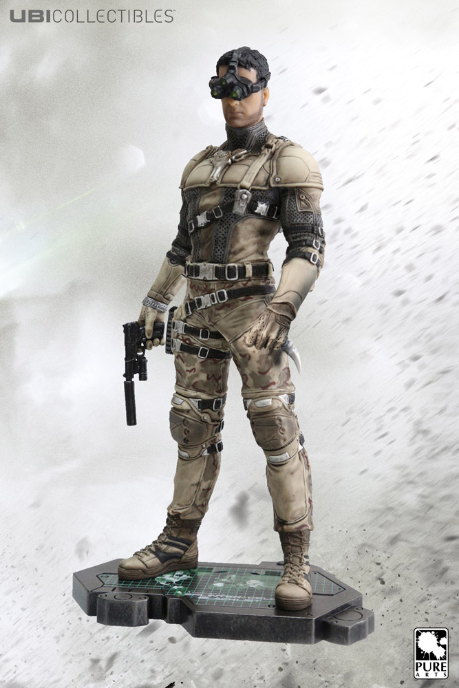 Splinter Cell - soška Sam Fisher Desert Suit 25 cm