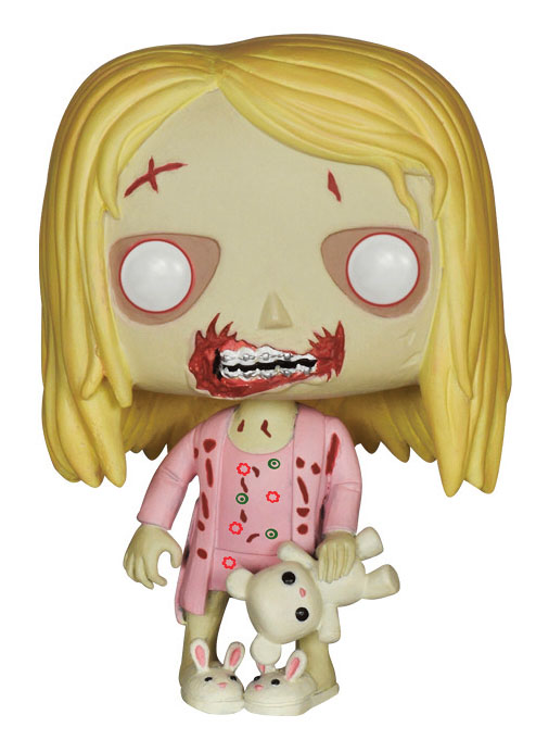 The Walking Dead POP! - figúrka Teddy Bear Girl 10 cm