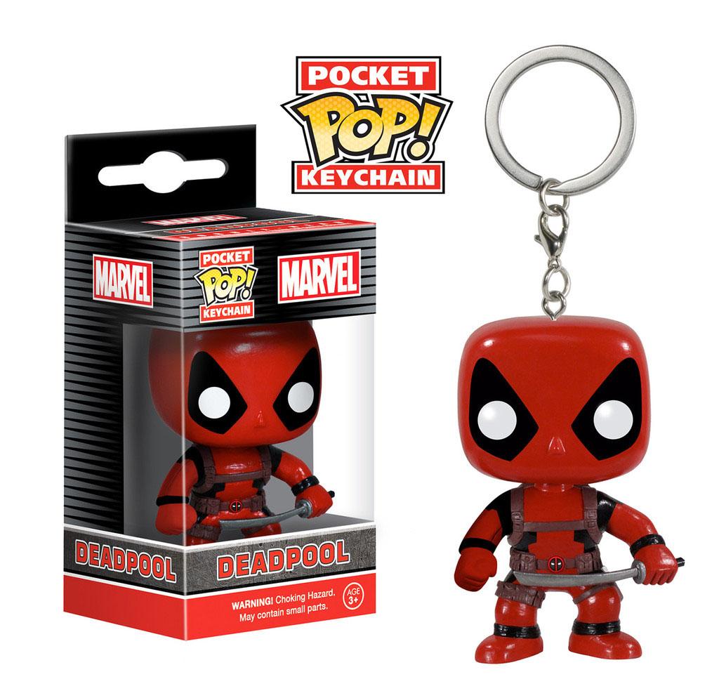 Marvel Comics Pocket POP! - vinylová kľúčenka Deadpool 4 cm empty 95298f5f2c5