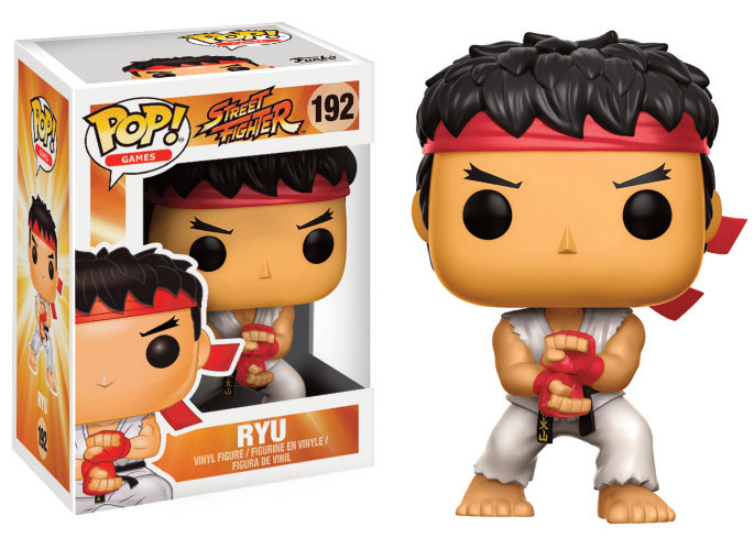 Street Fighter POP! - figúrka Ryu (Special Attack) 9 cm