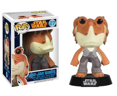 Star Wars POP! - bobble head Jar-Jar Binks 10 cm