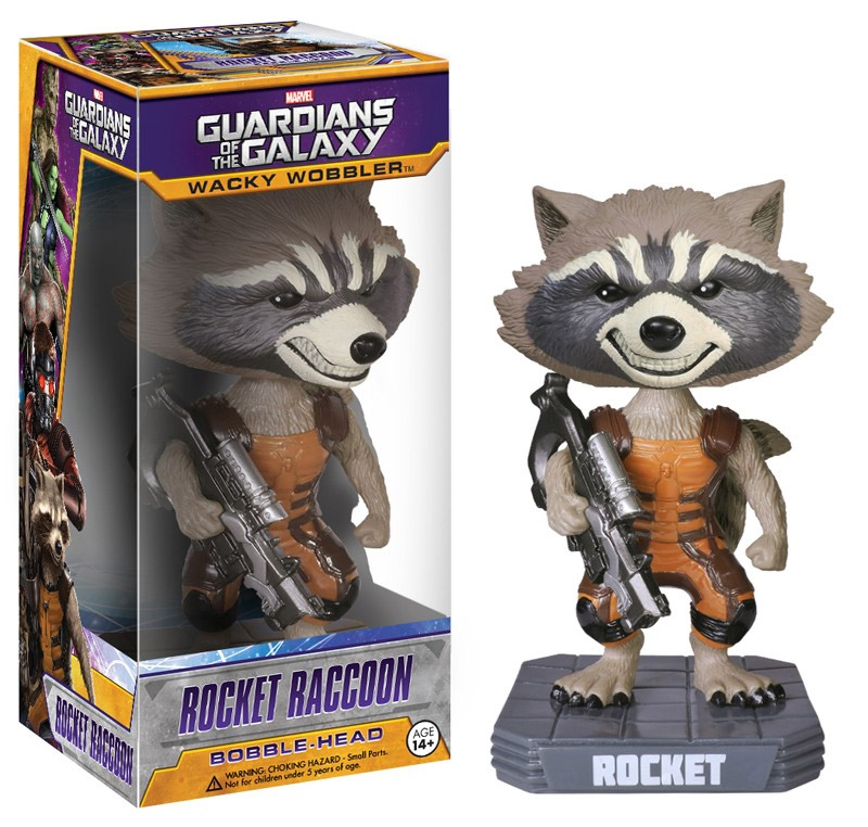 Guardians of the Galaxy POP! - bobble head wobbler Rocket Raccoon 18