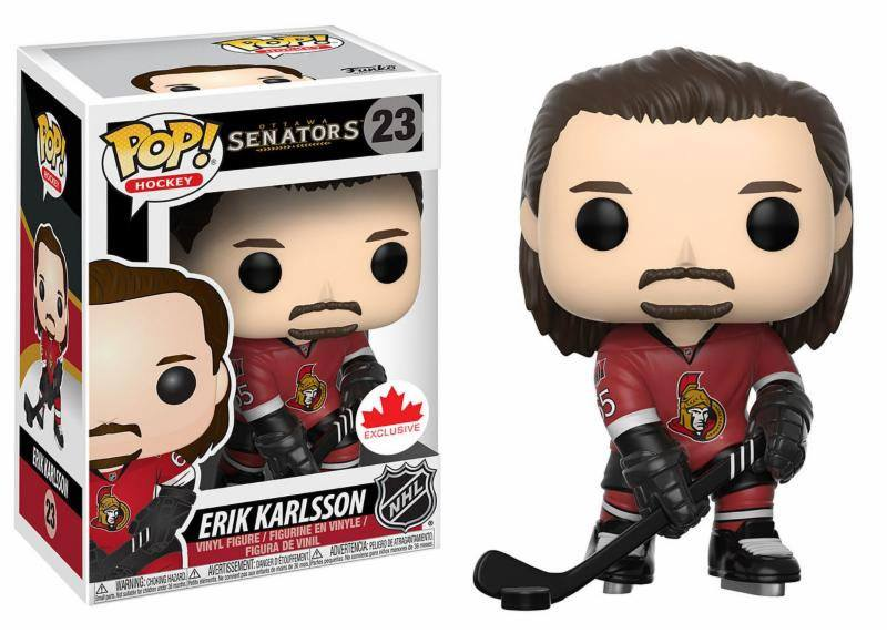 NHL POP! - figúrka Erik Karlsson 9 cm