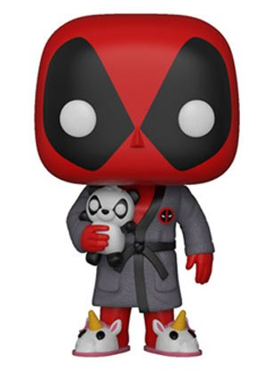 Deadpool Parody POP!  - figúrka Deadpool in Robe 9 cm
